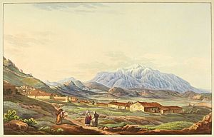 Mount Parnassus - Mount Parnassus in 1821, by Edward Dodwell.