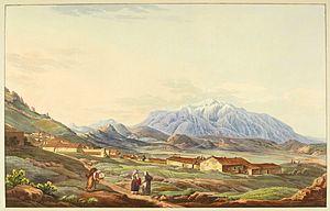 Mount Parnassus - Mount Parnassus in 1821, by Edward Dodwell.