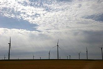 Wind power in Montana - Judith Gap