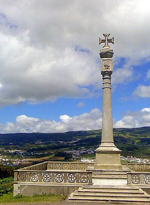 Monte Brasil - The monument marking Portuguese occupation of the Azores during the Age of Discoveries on Monte Brasil