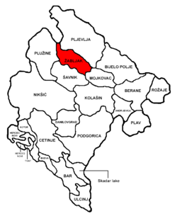 Žabljak Municipality in مونٹینیگرو