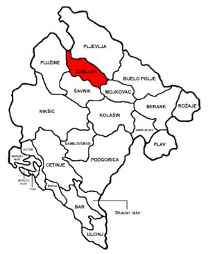 Žabljak Municipality - Image: Montenegro Žabljak