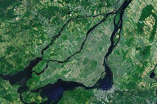 Greater Montreal Metropolitan area in Quebec, Canada