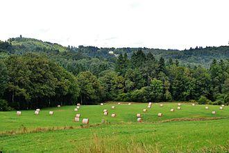 Bonnac-la-Côte - The landscape of the Ambazac mountains