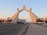 Arch of Reunification, a monument to the goal of a reunified Korea.