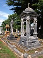 Monumental tombs, Torquay Cemetery - geograph.org.uk - 1402436.jpg