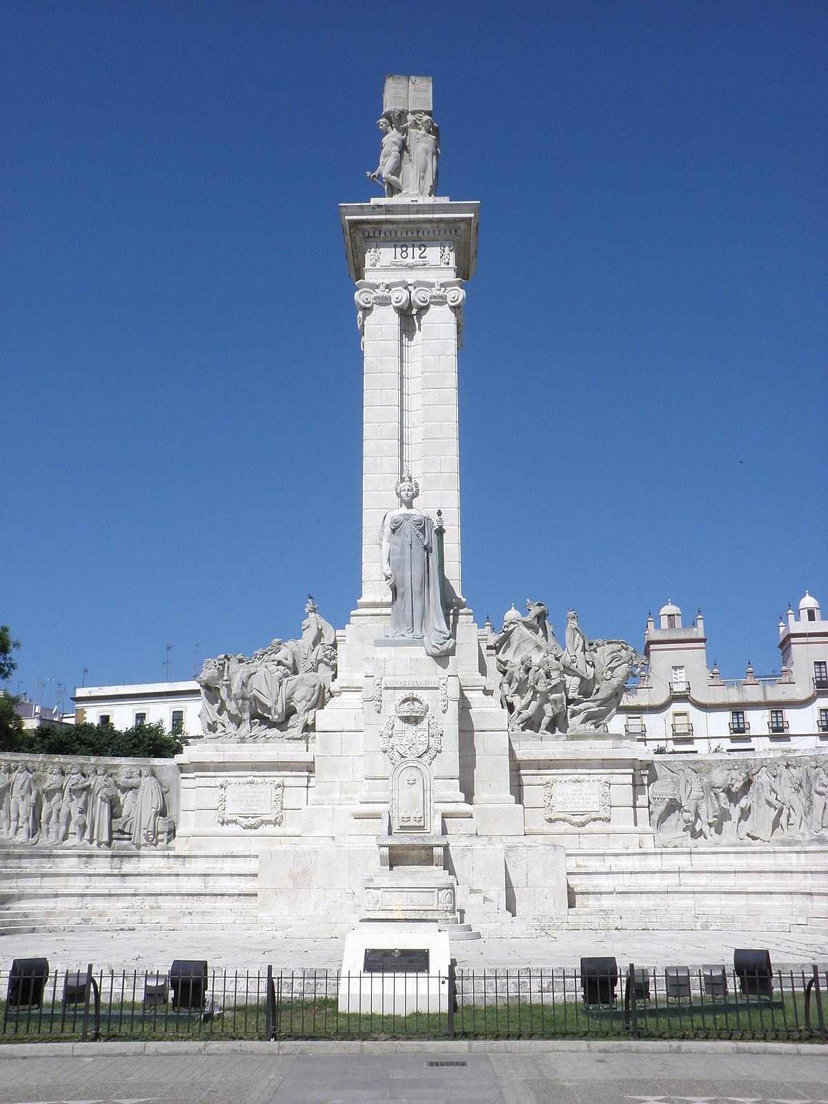 Plaza de espa a c diz wikipedia la enciclopedia libre - Arquitectos cadiz ...