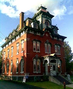 Moriah, New York - Moriah Town Hall in Port Henry