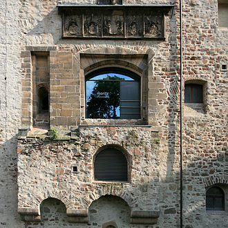 Moritzburg (Halle) - Moritzburg, old gate at the north wall