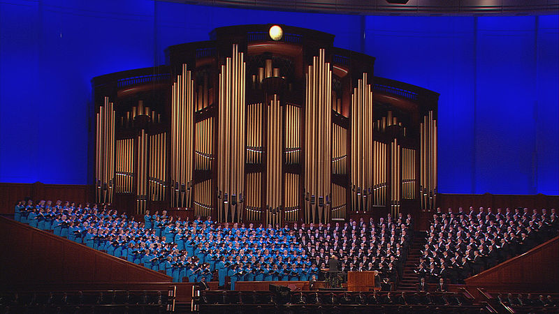 Mormon Tabernacle Choir, and organ