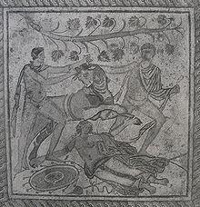 Mozaik on Ka  Njavanje Dirke Podni Mozaik U Puli 2 Ili 3 St