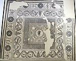 Mosaico dalla domus di palazzo diotallevi, sala di ercole, epoca adrianea, 150 ca..JPG