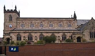 St Mary's Church, Moseley - Image: Moseley St Marys church