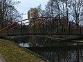 Most na Trakcie A. I. Goldfarba, wejście do Parku Miejskiego w Starogardzie Gdańskim.jpg
