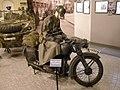 Motorcycle soldier on Hungarian Német NSU 251-OS (23648265246).jpg