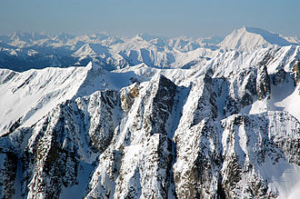 Mount Baker National Forest - Mount Baker-Snoqualmie National Forest from North
