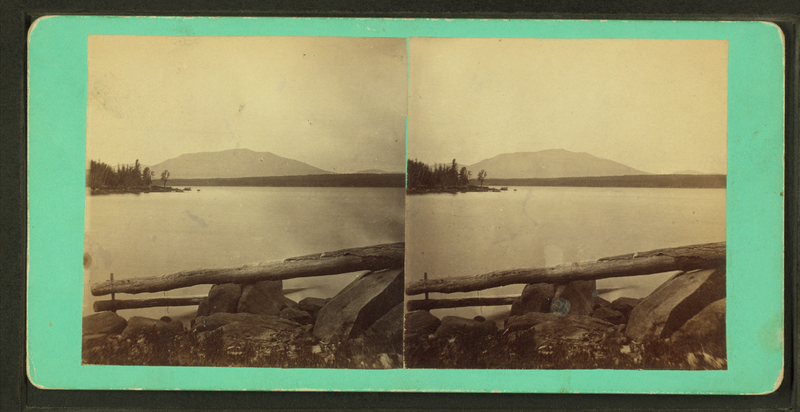 File:Mount Katahdin from Ambijegis Lake, by Hinds, A. L., fl. 1870-1879.png