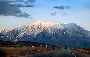 Mount Nebo (Utah) - Mount Nebo, February 2005