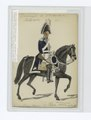 Mounted officer in uniform - blue jacket with white and grey accents, white pants (NYPL b14896507-85544).tiff