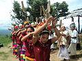 Mro indigenous 'Plung' (Flute) & dance, ChimBuk, BandarBan © Biplob Rahman-6.JPG