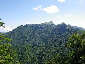 Ishizuchi Quasi-National Park - Mount Kamegamori