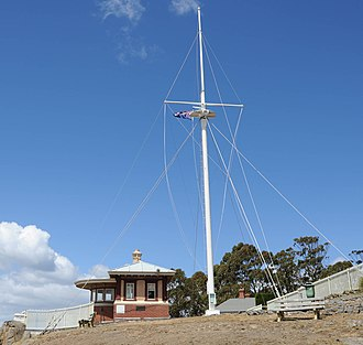 Mount Nelson, Tasmania - Mount Nelson Signal Station