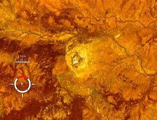 Mount Toondina crater