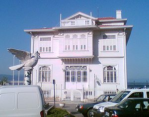 Armistice of Mudanya - Building where the Armistice of Mudanya was signed.
