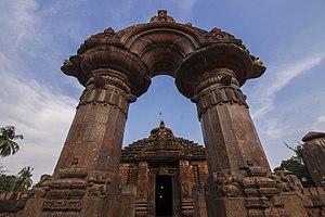 Mukteshvara Temple, Bhubaneswar - The decorated torana archway of Mukteshwar Temple