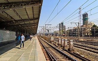 Borivali railway station - Image: Mumbai 03 2016 87 Borivali station