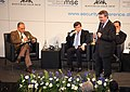 Munich Security Conference 2010 - KM020 Al Saud Davutoglu Zaki 01.jpg