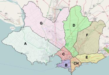 I municipi del Dipartimento di Montevideo