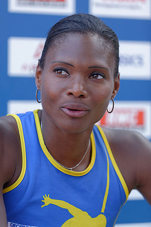 Muriel Hurtis-Houairi - Hurtis at the 2013 French Athletics Championships