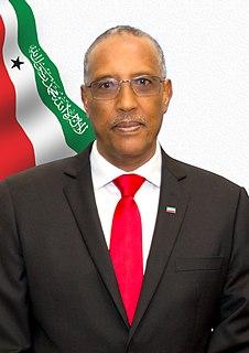 Muse Bihi Abdi 5th president of Somaliland