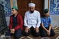 Muslims perform the Eid Al-Adha prayer at Eyup Sultan Mosque 2019-08-11 14.jpg