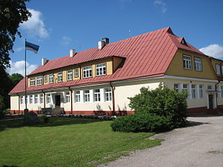 Mustjala Parish Municipality of Estonia in Saare County