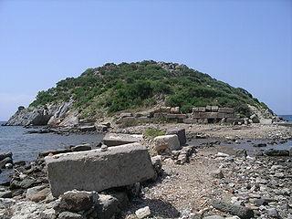 ancient Dorian colony of Troezen, on the coast of Caria in Asia Minor