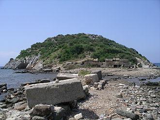 Myndus - Myndos' Rabbit Island in modern Gümüslük