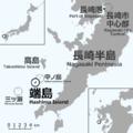 Nagasaki Hashima location map.png