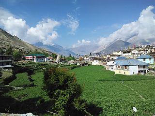 Nako, Himachal Pradesh Village in Himachal Pradesh, India