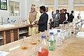 Narendra Modi visiting the Krishi Vigyan Kendra Campus of the Agricultural Development Trust, in Baramati, Maharashtra. The Governor of Maharashtra, Shri C. Vidyasagar Rao, the Chief Minister of Maharashtra.jpg