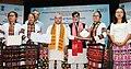 Narendra Singh Tomar conferring the National Awards on the Best Performing Self Help Groups under Deendayal Antayodaya Yojana - National Rural Livelihood Mission (DAY- NRLM), in New Delhi (6).JPG