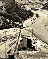 Narrow-Gauge-Railway Narentabahn Bridge-on-River-Rama Jablanica-Dam-Construction-Site.jpg