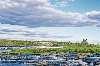 Nastapoka River - Rapides