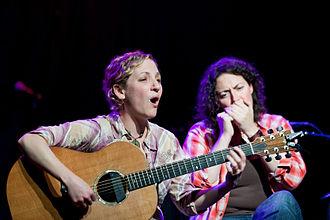 Natalia Zukerman - Natalia Zukerman and Trina Hamlin live in May 2010 at Madison, Wisconsin