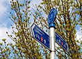 National Cycle Network sign, Belfast - geograph.org.uk - 1249785.jpg