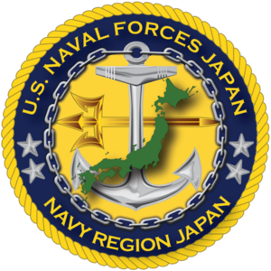 Naval Forces Japan (United States) - Command insignia of Commander, U.S. Naval Forces Japan and Navy Region Japan