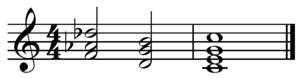 Neapolitan chord - Image: Neapolitan V I