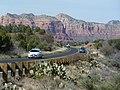 Near Oak Creek Village, AZ, View N State Route 179, 2012 - panoramio.jpg