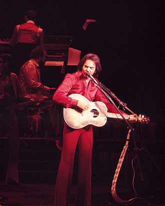 Planet Hollywood Las Vegas - Neil Diamond performing at the Aladdin Theatre for the Performing Arts on July 2, 1976